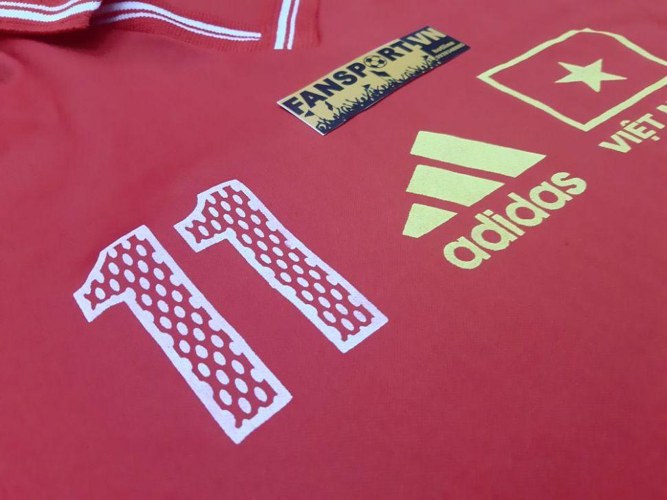 Áo đấu Việt Nam Adidas 11 home đỏ shirt jersey Vietnam