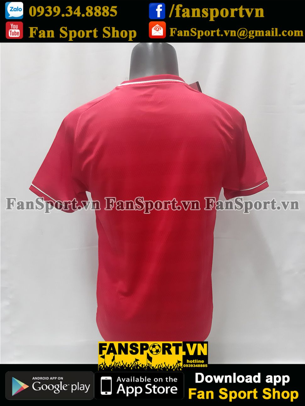 Áo Việt Nam 2008-2018 Champions AFF Cup home đỏ shirt Vietnam BWNT
