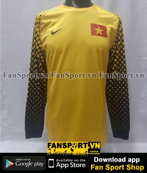Áo thủ môn Việt Nam 2010-211 vàng Nike shirt goalkeeper GK Vietnam