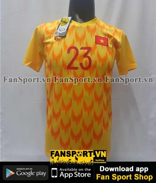 Áo Văn Lâm 23 Việt Nam 2019 away Grand Sport shirt goalkeeper GK