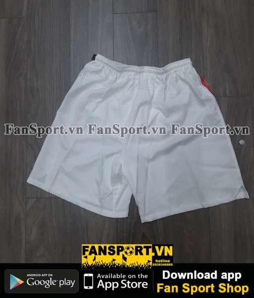 Quần cầu thủ Việt Nam 2010-2011 trắng short white player Vietnam Nike
