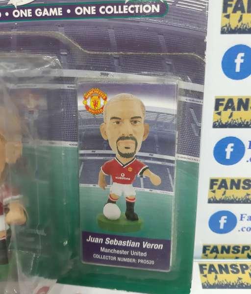 Tượng Veron 4 Manchester United 2000 2001 2002 home corinthian PRO520