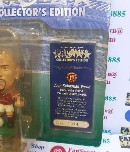 Tượng Veron 4 Manchester United 2000 2001 2002 home corinthian PRO546