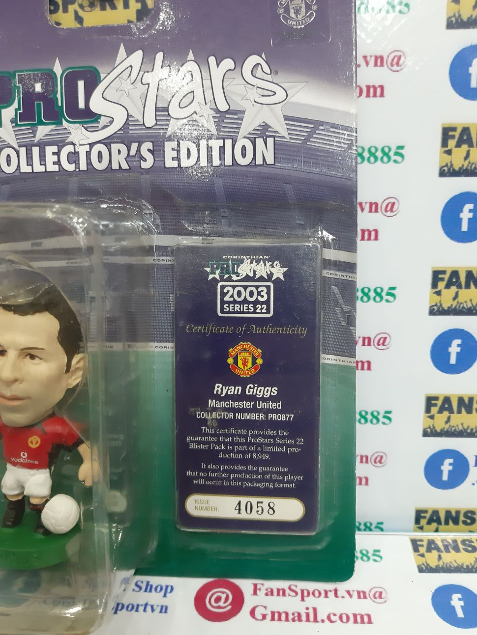 Tượng Giggs 11 Manchester United 2002 2003 2004 home corinthian PRO877