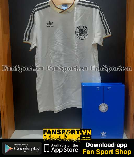 Box 2 áo Germany Adidas Techfit World Cup 2010-2012 retro 1986 limited
