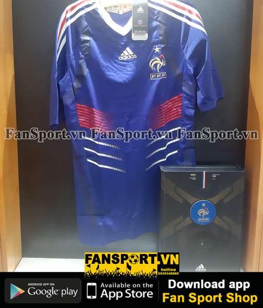 Box 2 áo France Adidas Techfit World Cup 2009-2011 retro 1986 limited