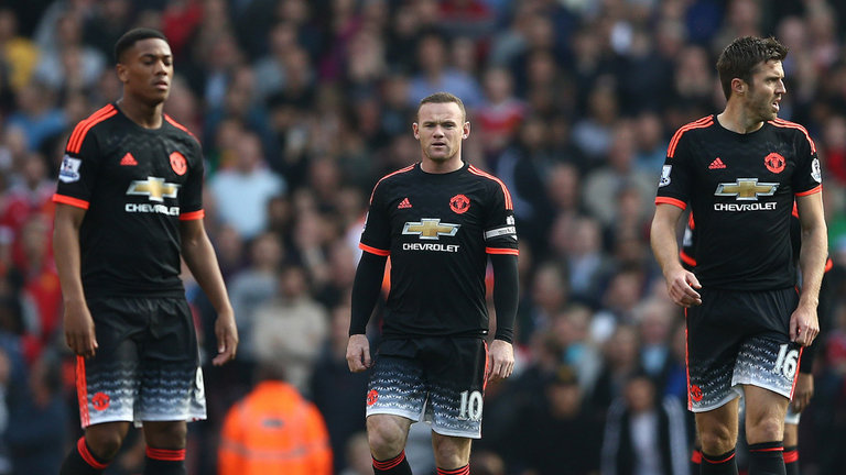 Áo đấu Rooney #10 Manchester United 2015-2016 thir shirt adizero BNWT
