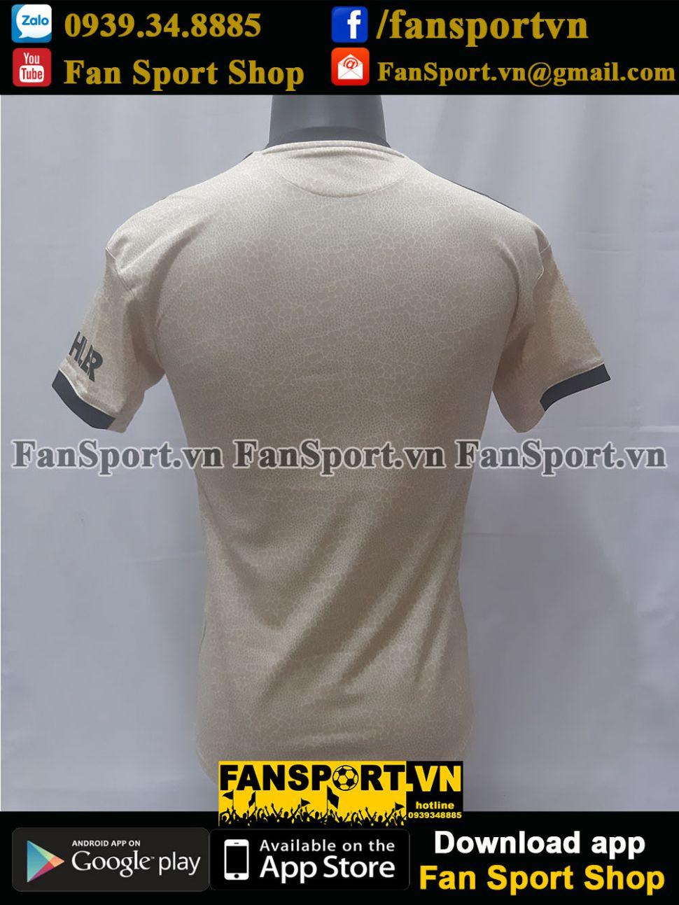 Áo đấu Manchester United 2019-2020 away shirt jersey yellow brown BNWT