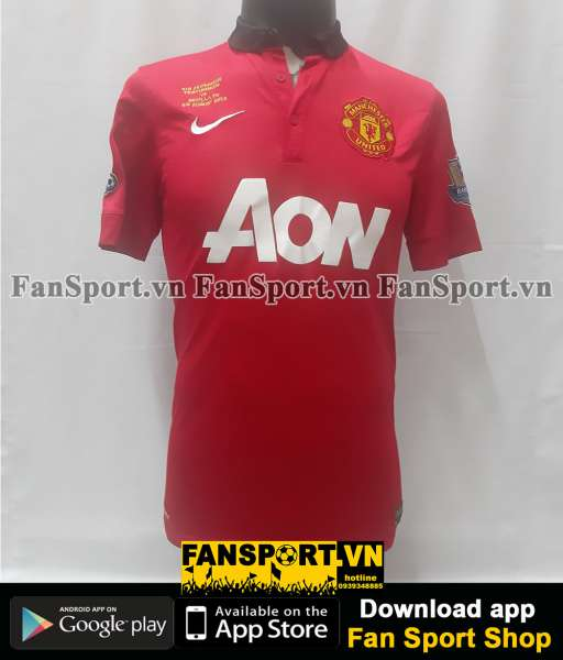 Áo Ferdinand #5 Manchester United Testimonial 2013 home shirt 2014 red