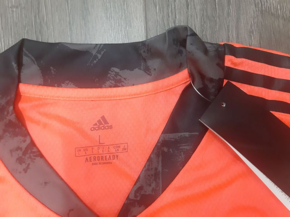 Áo GK Manchester United 2020-2021 third goalkeeper shirt jersey orange