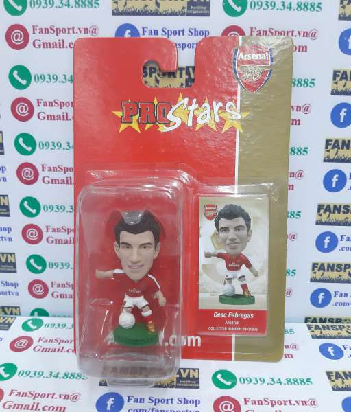Tượng Fabregas Arsenal 2008-2009-2010 home corinthian blister PRO1806
