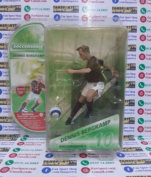 Tượng Denis Bergkamp 10 Arsenal 2005-2006 home soccerserie blister