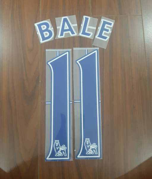 Font Bale 11 Tottenham Premier League 2007-2013 blue nameset