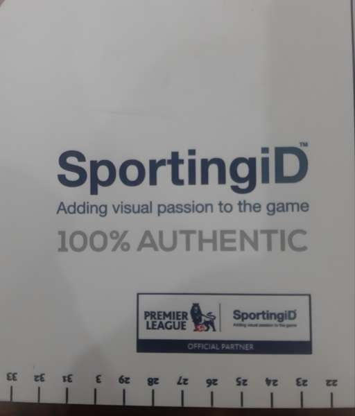 Thước in nameset font Premier League Sporting ID ruler