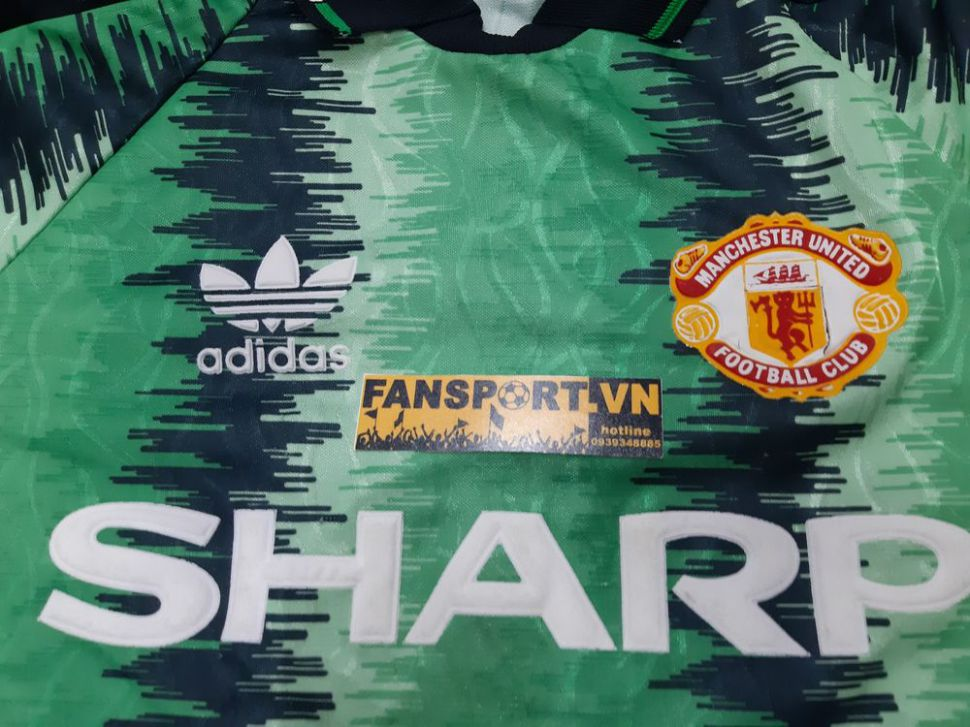 Áo thủ môn Manchester United 1990 1991 1992 home goalkeeper GK shirt