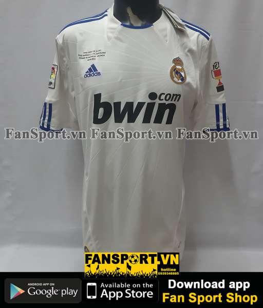 Áo chữ ký Ronaldo 7 Real Madrid Final Copa del Rey 2011 shirt 2010