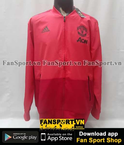 Áo khoác Manchester United 2018-2019 pink jacket coach
