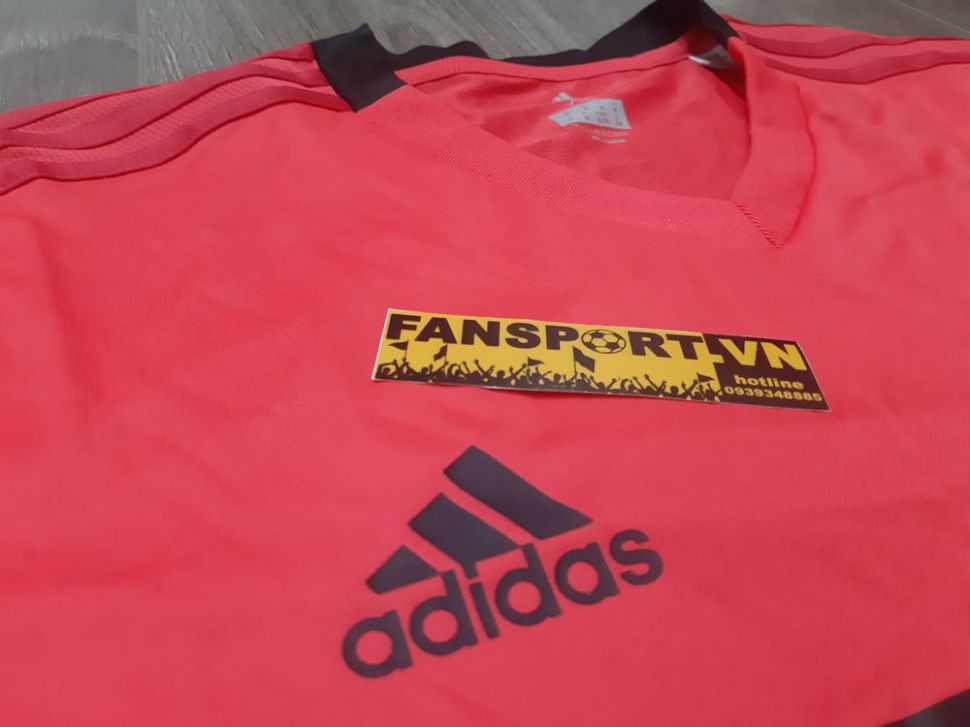 Áo tập luyện Manchester United 2018-2019 pink jersey shirt coach