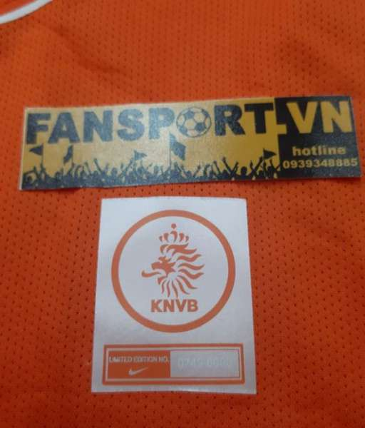Box áo Nistelrooy Netherlands 2004 2005 2006 home limited shirt jersey