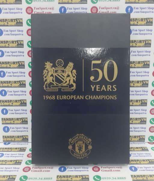 Badge 50 Years 1968 European Champions Manchester United box set 1720