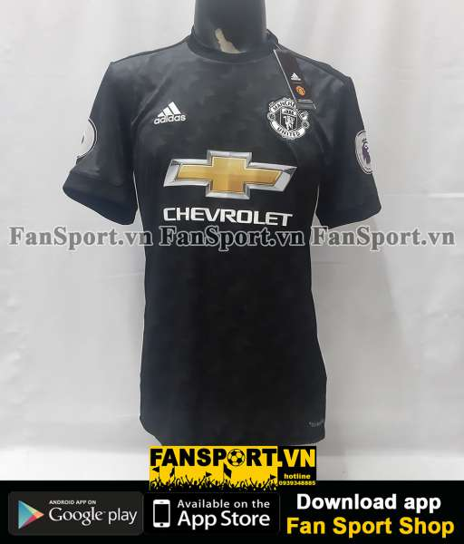 Áo chữ ký Young 18 Manchester United 2017-2018 away shirt jersey sign