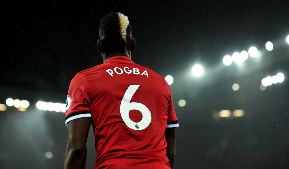 Áo đấu Pogba 6 Manchester United 2017-2018 home shirt jersey red