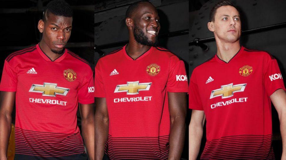Áo đấu Manchester United 2018-2019 home shirt jersey red