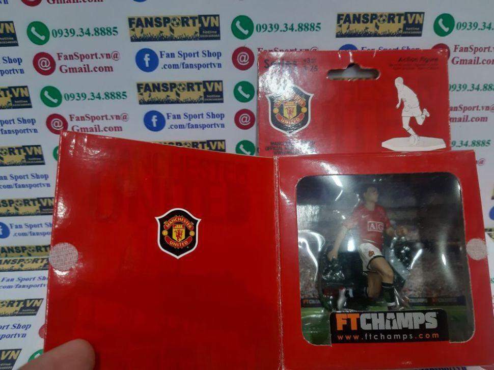 Set Ronaldo Rooney Giggs Manchester United 2007 2008 2009 FT Champs