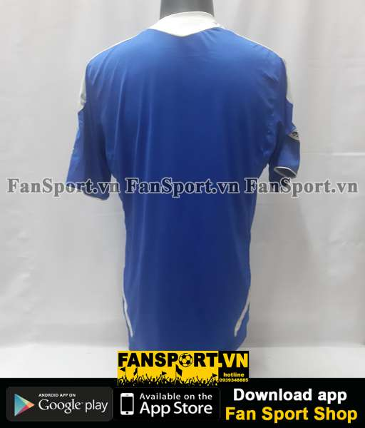 Áo đấu Chelsea FA Cup Final 2012 home shirt jersey blue 2011