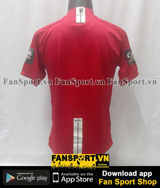 Áo đấu Manchester United League Cup Final 2009 home shirt 2007 2008