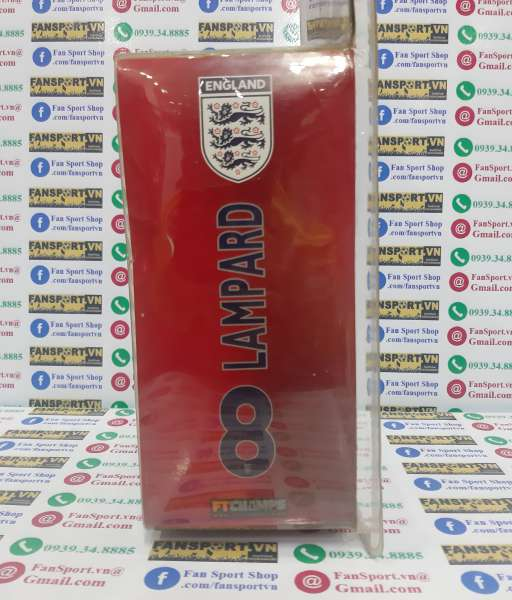 Tượng Lampard England 2005 2006 2007 home white FT Champs series 4-4-2