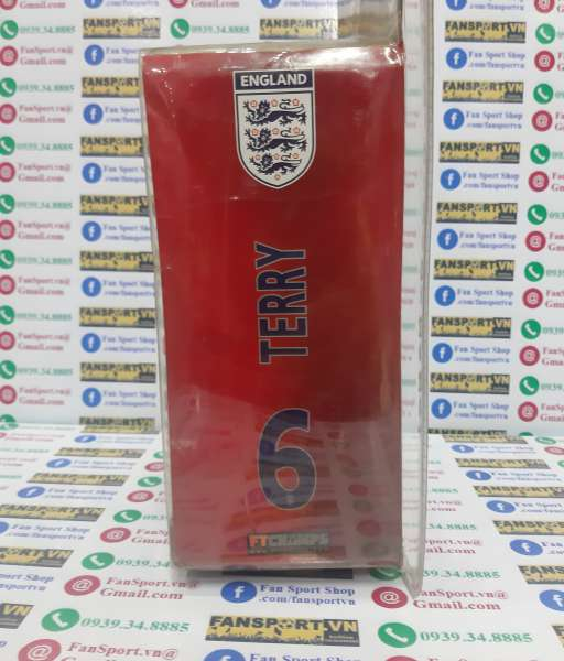 Tượng Terry 6 England 2005 2006 2007 home white FT Champs series 4-4-2