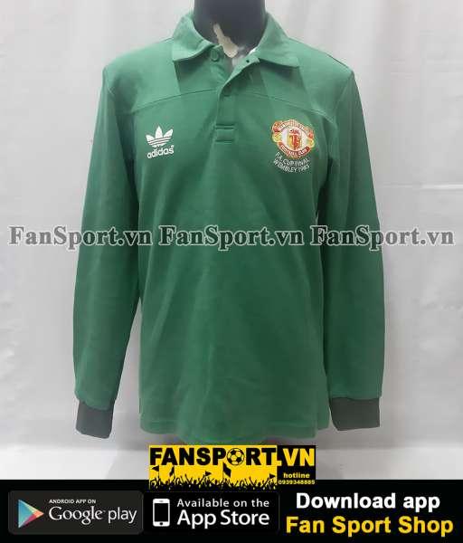 Áo thủ môn Manchester United FA Cup Final 1985 home goalkeeper green