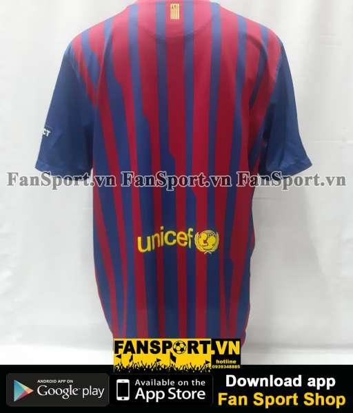 Áo đấu Barcelona UEFA Super Cup 2011 home shirt jersey 2012 blue red