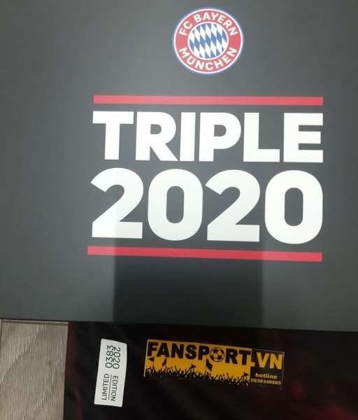 Box Bayern Munich Champion League Winner Triple 2020 training shirt
