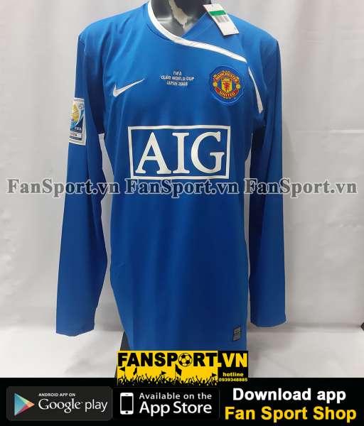 Áo GK Manchester United FIFA Club World Cup Final 2008 away goalkeeper