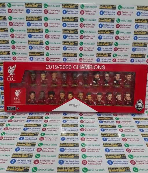 Bộ tượng Liverpool Champions 2019-2020 Premier League Soccerstarz 0955
