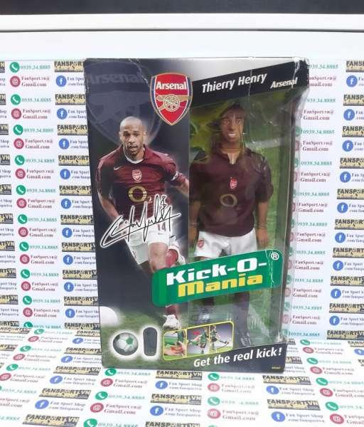 Tượng Henry #14 Arsenal 2005 2006 home Kick-O-Mania figures box