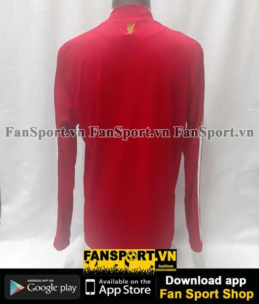 Áo đấu Liverpool 2008 2009 2010 home red shirt jersey long