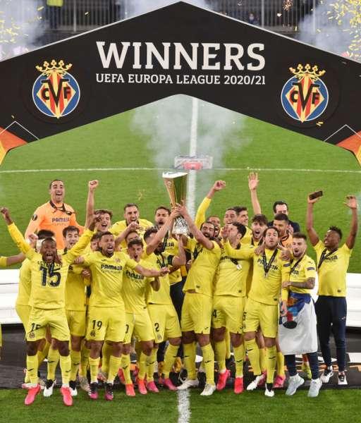 Pennant Europa League Final 2021 Gdansk Manchester United Villarreal