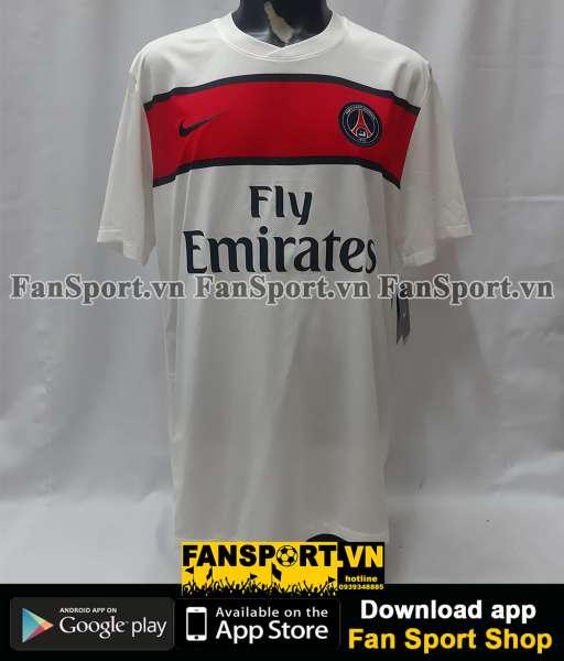 Áo đấu Beckham #32 PSG 2011-2012-2013 away shirt jersey white
