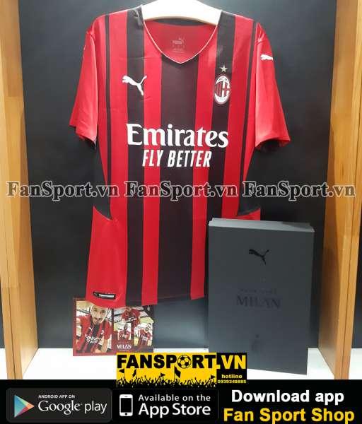 Box Ibrahimovic 11 AC Milan 2021-2022 home shirt jersey authentic Puma