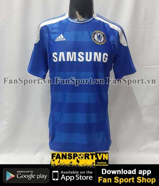 Áo đấu Chelsea 2011 2012 home shirt jersey blue