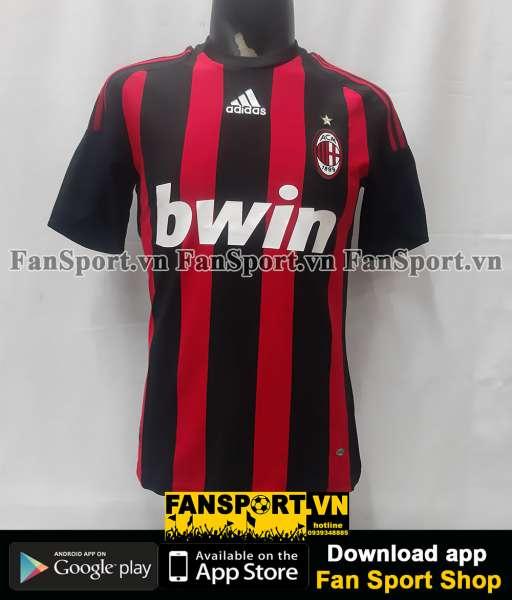 Áo đấu AC Milan 2008-2009 home shirt jersey red