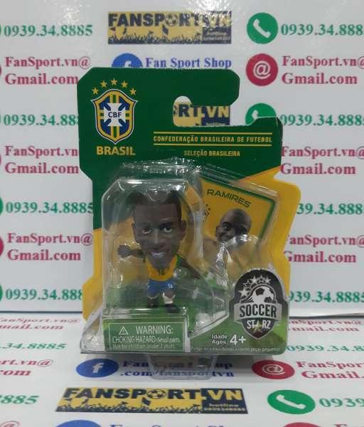 Tượng Ramires 16 Brazil 2014 2015 2016 home yellow Soccerstarz