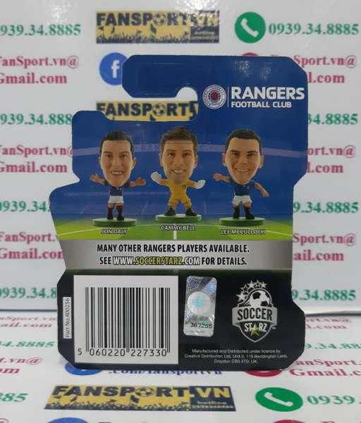 Tượng Ally McCoist Rangers 2011-2014 coach grey blister soccerstarz