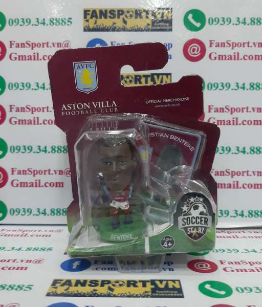 Tượng Benteke 20 Aston Villa 2013-2014 goalkeeper soccerstarz blister