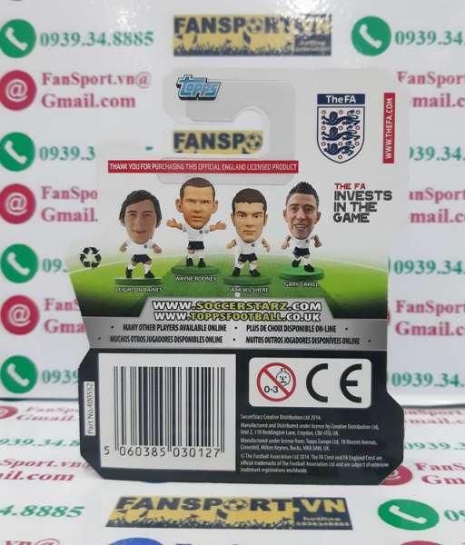 Tượng Jack Wilshere 8 England 2012 2013 2014 home soccerstarz figures