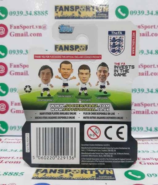 Tượng Chris Smalling 12 England 2012 2013 2014 home soccerstarz figure