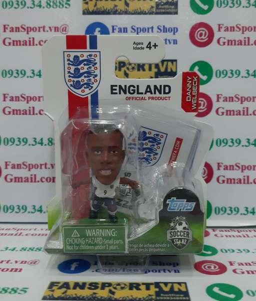 Tượng Danny Welbeck 9 England 2012 2013 2014 home soccerstarz figures